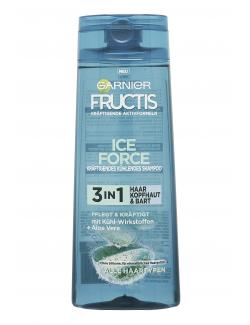 Garnier Fructis Ice Force Shampoo 3in1 Aloe Vera