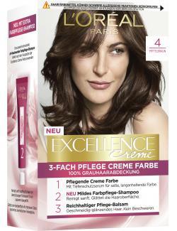 L'Oréal Excellence 4 Mittelbraun