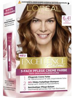 L'Oréal Excellence 6.41 Helles Caramelbraun