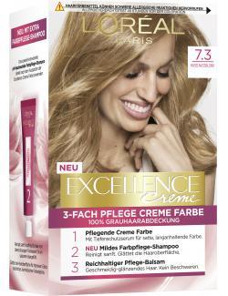 L'Oréal Excellence Creme 7.3 Haselnussblond