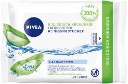 Nivea Erfrischende Reinigungstücher biologisch abbaubar