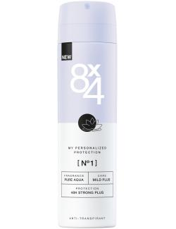 8x4 No. 1 Deo Spray Pure Aqua