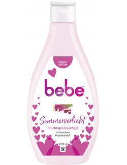 Bebe Sommerverliebt Fruchtiges Duschgel Rhabarberduft