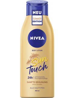 Nivea Body Lotion Sun Touch sanfte Bräunung