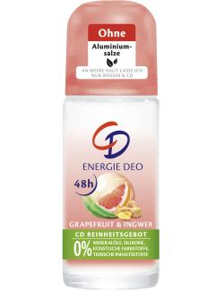 CD Deo Roll-On Energie Grapefruit & Ingwer