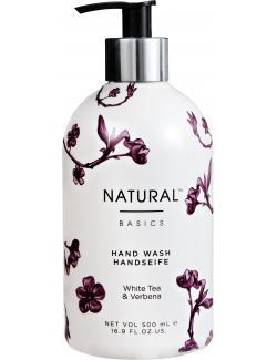 Natural Basics Handseife White Tea & Verbena