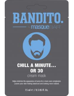 Bandito by MasqueBAR Chill a minute...or 30 Crememaske