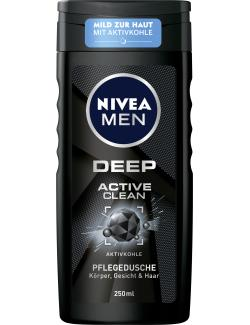 Nivea Men Deep Active Clean Pflegedusche