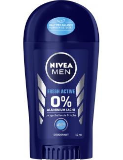 Nivea Men Fresh Active 0% Deo Stick
