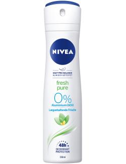 Nivea Fresh Pure Deo Spray