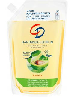 CD Waschlotion Avocado Nachfüllbeutel