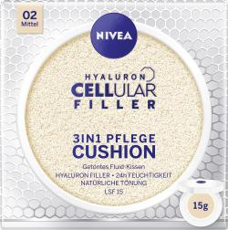 Nivea Hyaloron Cellular Filler 3in1 Pflege Cushion 02 mittel