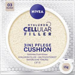 Nivea Hyaloron Cellular Filler 3in1 Pflege Cushion 03 dunkel