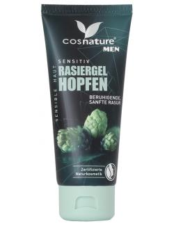 Cosnature Men Sensitiv Rasiergel Hopfen