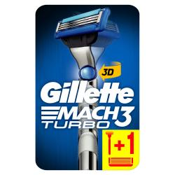 Gillette Mach3 Turbo 3D Rasierer