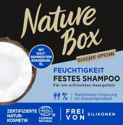 Nature Box Festes Shampoo mit Kokosnuss-Öl