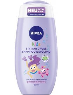 Nivea Kids 3 in 1 Duschgel Shampoo & Spülung Beerenduft