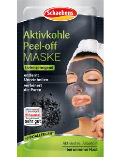 Schaebens Aktivkohle Peel Off Maske
