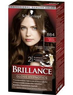 Schwarzkopf Brillance Color-Creme 884 Kakaobraun