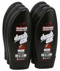 Duschdas 2in1 Noire Duschgel & Shampoo Anregender Zedernholzduft