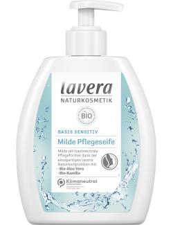 Lavera Basis sensitiv Milde Pflegeseife Bio-Aloe Vera & Bio-Kamille