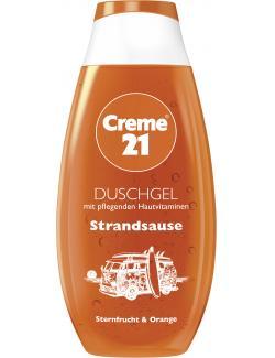 Creme 21 Duschgel Strandsause Sternfrucht & Orange