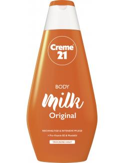 Creme 21 Body Milk Original Trockene Haut