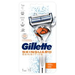 Gillette SkinGuard Sensitive Flexball Rasierer + Klinge