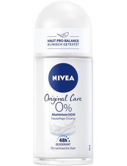 Nivea Original Care 0% Aluminium Deo Roll On