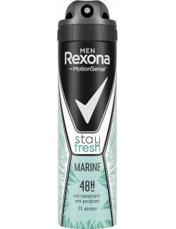 Rexona Men Stay fresh Marine Deo Spray