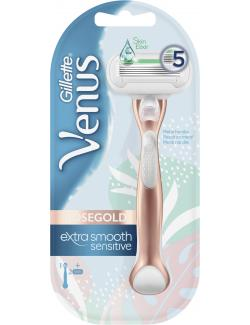 Gillette Venus Extra Smooth Sensitive Roségold Rasierer