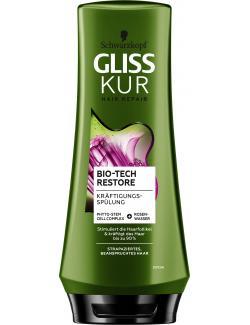 Schwarzkopf Gliss Kur Spülung Bio-Tech Restore