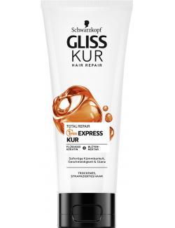 Schwarzkopf Gliss Kur 1 Minute Express Kur Total Repair