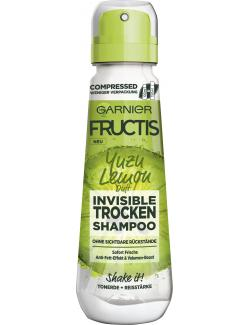 Garnier Fructis Invisible Trocken Shampoo Yuzu Lemon Duft
