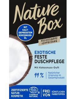 Nature Box Feste Duschpflege Exotisch mit Kokosnuss-Duft