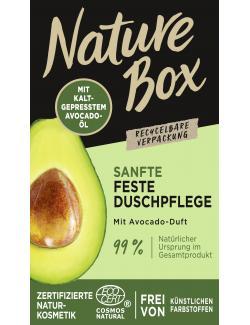 Nature Box Feste Duschpflege Sanft mit Avocado