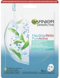 Garnier Skin Active Hautklar Aktiv Anti-Unreinheiten Tuchmaske