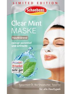 Schaebens Clear Mint Maske