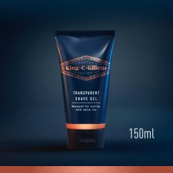 King C. Gillette Transparent Shave Gel