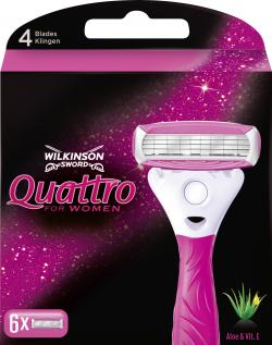 Wilkinson Quattro for Women Klingen