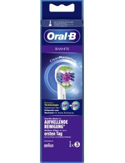 Oral-B Aufsteckbürsten 3D White CleanMaximizer