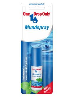 One Drop Only Mundspray ohne Alkohol