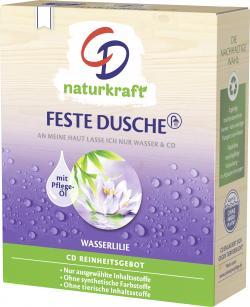 CD naturkraft Feste Dusche Wasserlilie