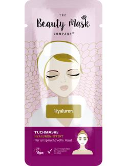 The Beauty Mask Company Tuchmaske Hyaluron-Effekt