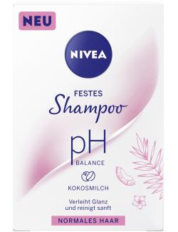 Nivea Festes Shampoo ph Balance normales Haar