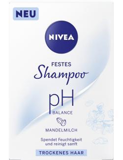 Nivea Festes Shampoo ph Balance trockenes Haar
