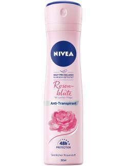 Nivea Deo Spray Rosenblüte mit sanfter Pflege