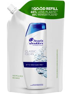 Head & Shoulders Anti-Schuppen Shampoo Classic Clean Nachfüllpack