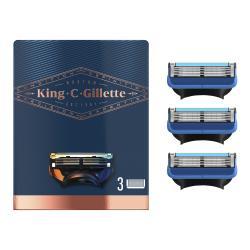 King C. Gillette Shave & Edge Razor Blades Systemklingen