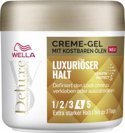 Wella Deluxe Creme-Gel mit kostbaren Ölen Luxuriöser Halt 4